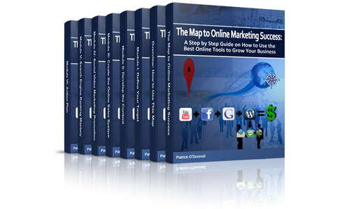 map to online marketing success